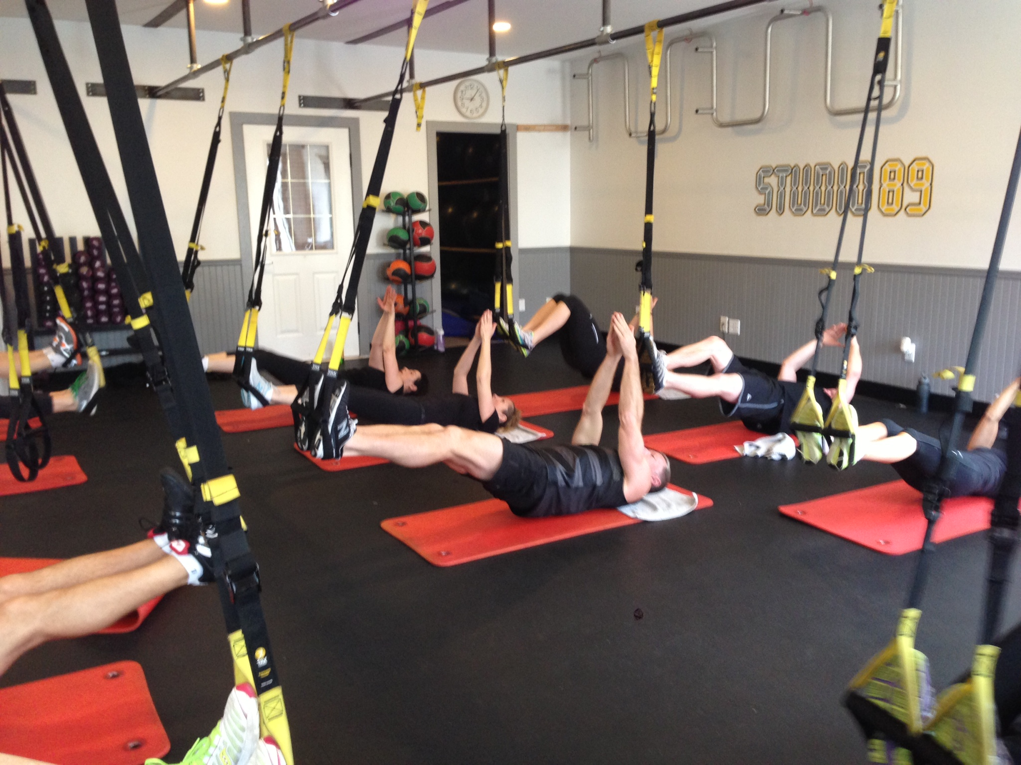 Not Your Average TRX Class, Not Your Average Trainer