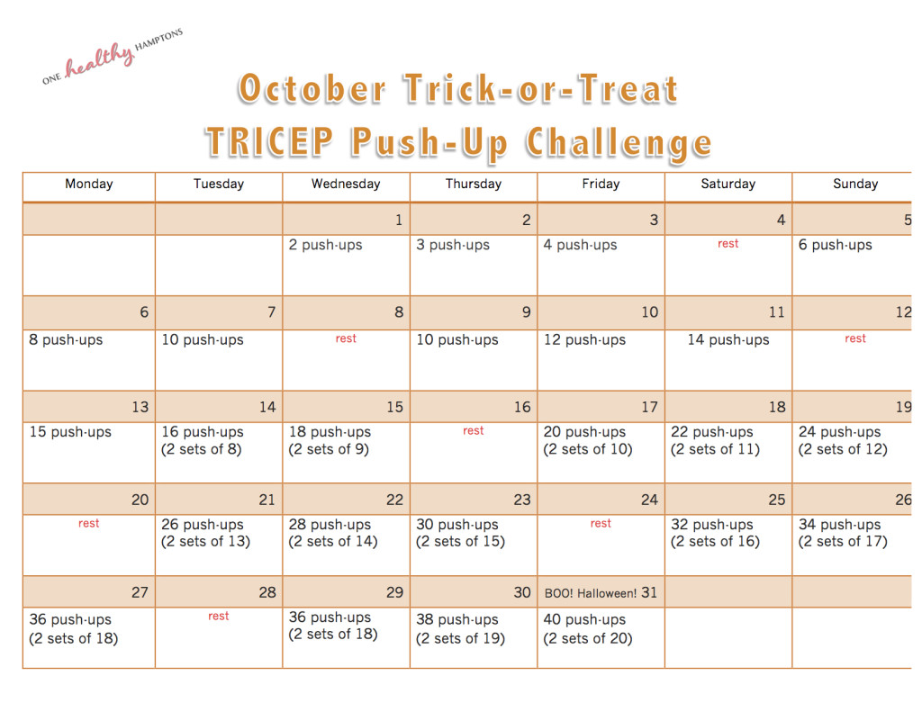 Oct Tricep Challenge