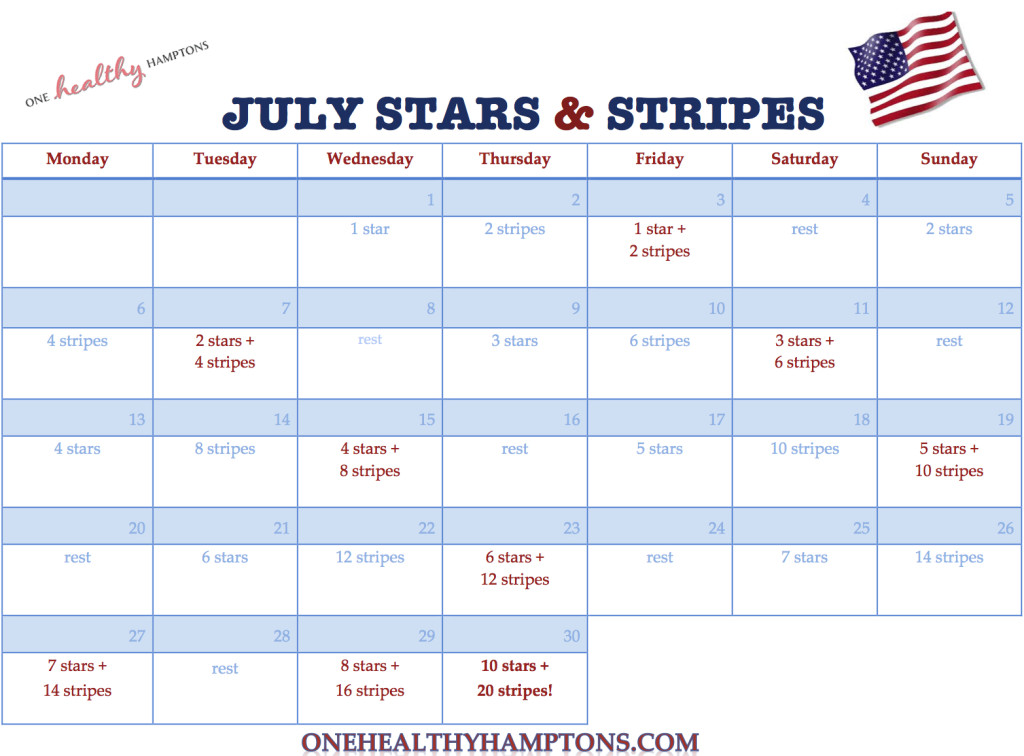 July Stars & Stripes